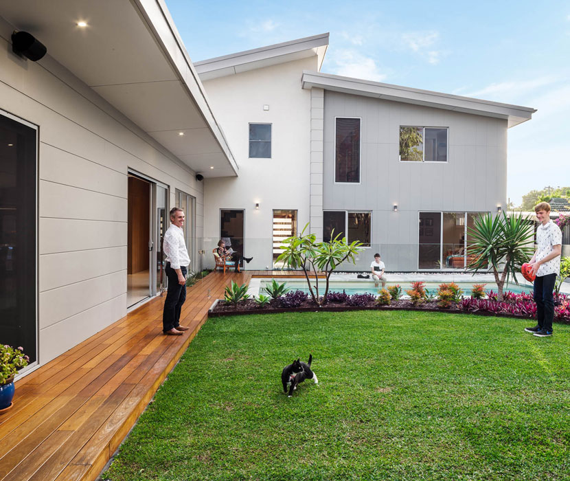 Alfresco style inner yard